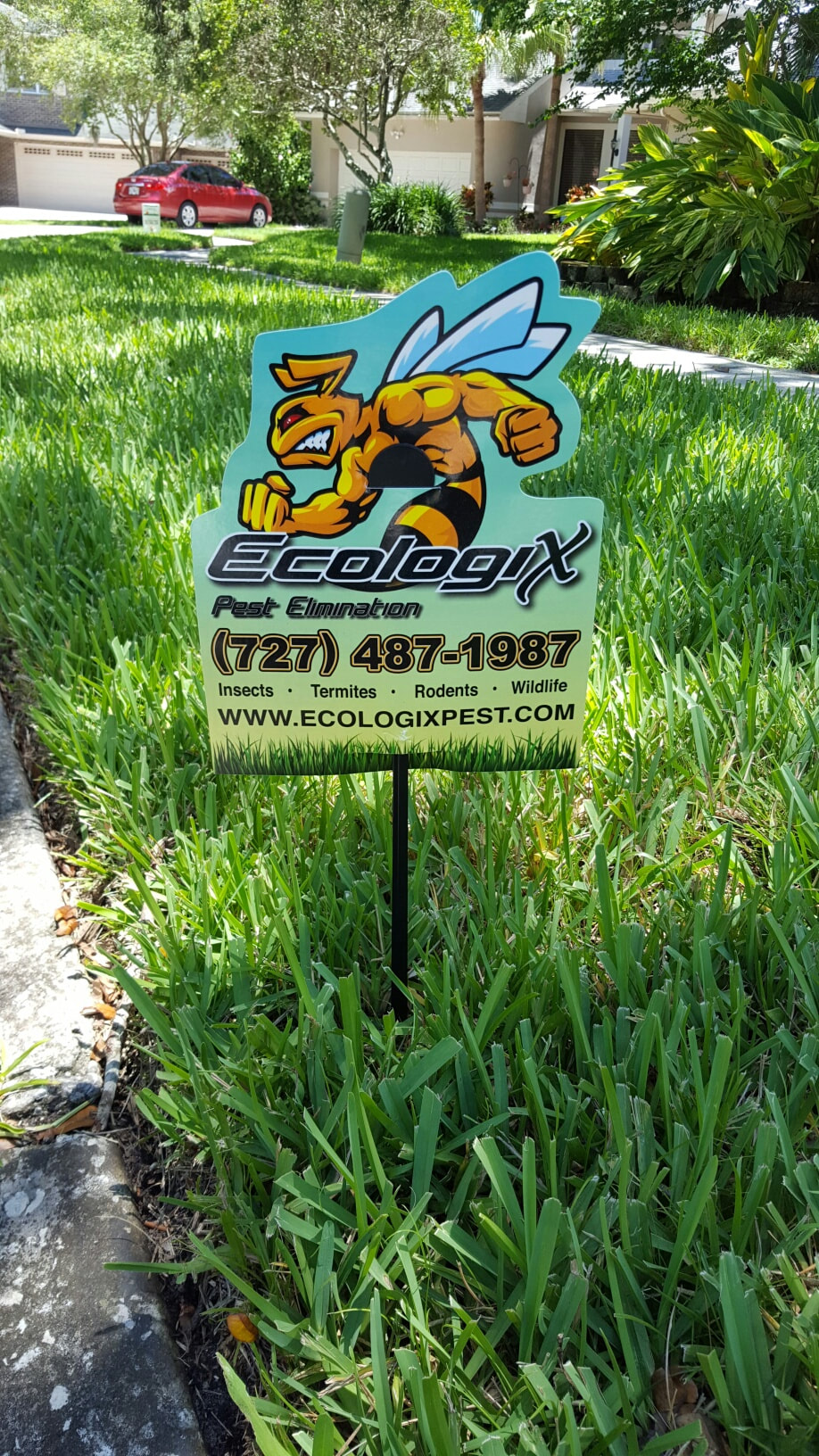 Ecologix Lawn Sign